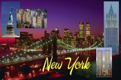 Photo Collage of New York
